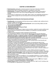 HLTB41H3 Chapter Notes - Chapter CHAPTER 13: Health Promotion, Great Recession, Child Poverty
