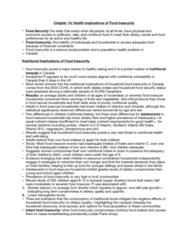 HLTB41H3 Chapter Notes - Chapter 14: Energy Density, Vitamin B6, Infant Formula