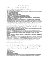 HLTB41H3 Chapter Notes - Chapter 17: Racialization, Health System, Social Inequality