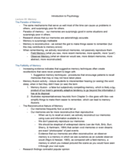 46-115 Lecture Notes - Lecture 9: Mental Model, Basal Forebrain, Space Shuttle Challenger Disaster