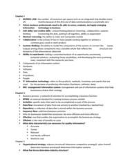 ISA 235 Study Guide - Final Guide: Internet Protocol Suite, Outsourcing, Bop It
