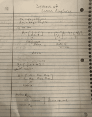 OPRE 3333 Lecture 5: systems of Linear Algebra