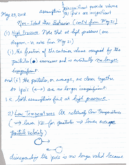 CHEM 1010 Lecture 10: May 23 Notes