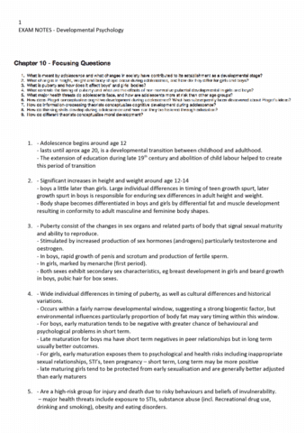 besc1120-final-developmental-psychology-adolescence-review-questions