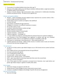 BESC1120 Study Guide - Final Guide: Working Memory, Procedural Memory, Circulatory System