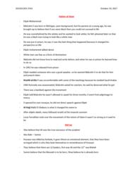 SOCIOL 2TA3 Lecture Notes - Lecture 7: Louis Farrakhan, Shia Islam, Karbala