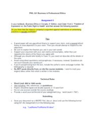 PHIL 331 Midterm: Assignment 3 (midterm) - Essay Prompt