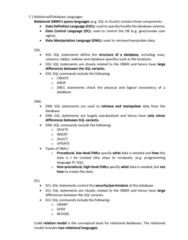 INFS1603 Lecture Notes - Lecture 7: Data Manipulation Language, Data Control Language, Sql