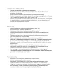 KNES 201 Lecture Notes - Lecture 1: Motivation, Risk Aversion, Participaction