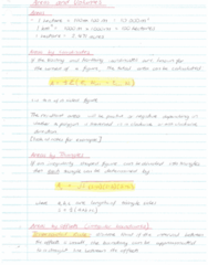 SURV1200 Lecture 9: Topic 9 - Areas and Volumes