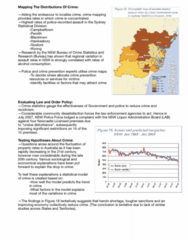 CRIM1010 Lecture Notes - Lecture 3: New South Wales Police Force, Crime Mapping, Statistical Model