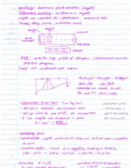 SURV1200 Quiz: Summary - levelling