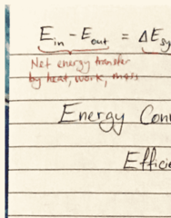 ENGG1500 Lecture 4: energy efficiencies