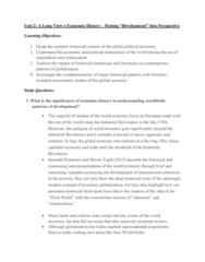 GOVN 444 Lecture Notes - Lecture 2: Kenneth Pomeranz, Productive Forces, Eurocentrism