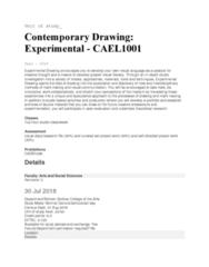 CAEL1001 Lecture Notes - Lecture 1: Sydney Grammar School