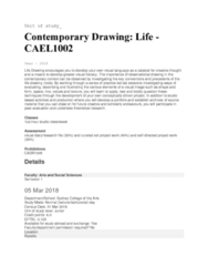 CAEL1002 Lecture Notes - Lecture 1: Sydney Grammar School