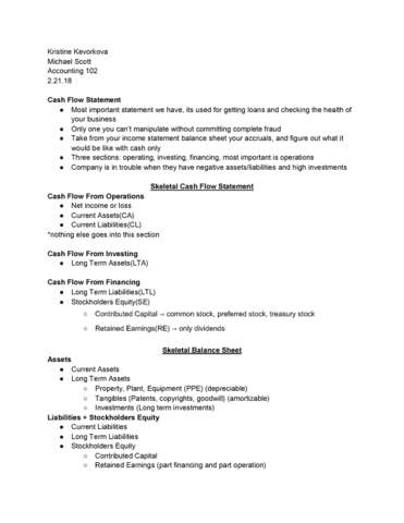 acctg 102 lecture notes spring 2018 lecture 13 net income