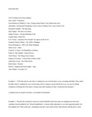 ENGL 91C Study Guide - Final Guide: Raymond Chandler, Ernest Hemingway, Alice Walker