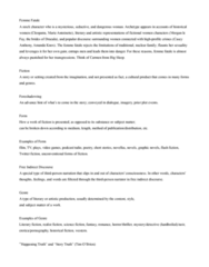 ENGL 91C Study Guide - Final Guide: Intertextuality, Flash Fiction, Literary Fiction