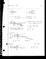 PHY 126 Lecture 20: Diverging and Converging Lens