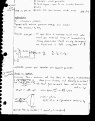 PHY 126 Lecture 2: Hydrostatics and Fluid in Motion
