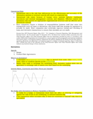 16655 Lecture Notes - Lecture 11: Operational Risk, Interest Rate Swap, Interest Rate Risk