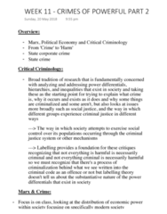 ATS1281 Lecture Notes - Lecture 11: Corporate Crime, Collective Behavior, Jordan Belfort