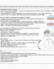 ATS1310 Study Guide - Midterm Guide: Atmospheric Instability, Mercedes-Benz Superdome, Silt