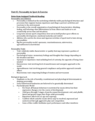 PSYC 3480 Chapter Notes - Chapter 2: Observational Learning, Operant Conditioning, Sensation Seeking