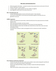 BIOA01H3 Lecture Notes - Lecture 1: Phosphodiester Bond, Nucleoside, Adenine