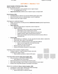 PSYC20007 Lecture Notes - Lecture 5: Temporal Lobe, Parahippocampal Gyrus, Parietal Lobe