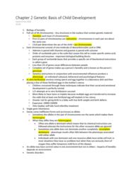 PSYC 304 Chapter Notes - Chapter 2: Heritability, Intellectual Disability, Twin Study