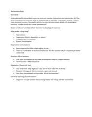 MCB 2000 Lecture Notes - Lecture 1: Blood Sugar, Hemoglobin, Homeostasis