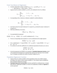 ECON10005 Lecture Notes - Lecture 12: Nonlinear Regression, Random Variable, Dependent And Independent Variables