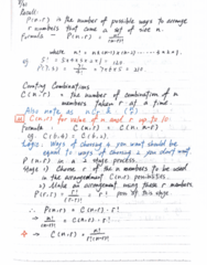MATH-M 118 Lecture 6: Math118-Lecture6-Counting Combinations