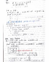 MATH-M 118 Lecture 3: Math118-Lecture-Venn Diagram