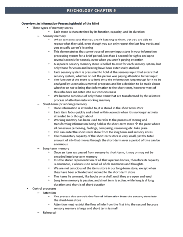 chapter 9 psychology notes 2018-10-7 chapter 10 - motivation & emotion  chapter 10: psychology: themes and variations, canadian edition unit 8 pt1 (myers)  while we strive to provide the most comprehensive notes for as many high school textbooks as possible, there are certainly going to be some that we miss.