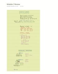 PROCTECH 3SC3 Chapter 2: Module 2 Review