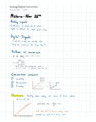 PROCTECH 3SC3 Midterm: Analog-Digital Conversion
