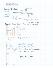 PROCTECH 3SC3 Midterm: Sampling Theory