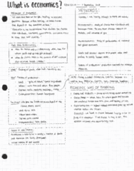 ECON 101 Lecture 2: econ 101 001 - Lecture 2 - What is Economics?