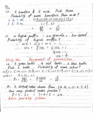 MATH-M 118 Lecture 10: Math-M118-Lecture- PracticeExam1_A(Second Half) & ParcticeExam1_B