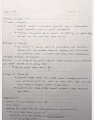 ECO100Y5 Lecture 1: ECO100Y5 Lecture 1 Notes Yindok