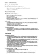 MULT30018 Lecture Notes - Lecture 5: Dependent And Independent Variables