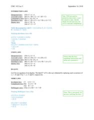 CISC 102 Lecture Notes - Lecture 5: Infinite (Band), Complex Instruction Set Computing, Empty Set