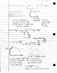 PHY 125 Lecture 9: Finding Vectors and Projectile Motion
