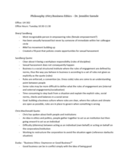 PHILOS 2N03 Lecture Notes - Fall 2018 Lecture 1 - Sheryl Sandberg, Me Too movement