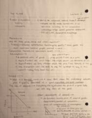 ECO100Y5 Lecture 2: ECO100Y5 Lecture 2 Notes Yindok