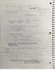 CHEMENG 2D04 Lecture 8: Mass Balance