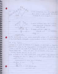 PHY 251 Chapter 4: Quantization of Light: X-rays and Bragg Diffraction, X-ray Spectra, Compton Effect